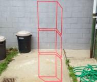 Aakash Nihalani's geometric tape installations