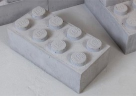 Concrete Legos by Andrew Lewicki