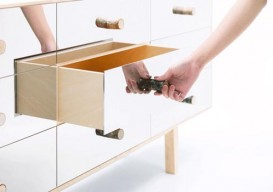 Mikiya Kobayashi's mirrored credenza is a design nightmare