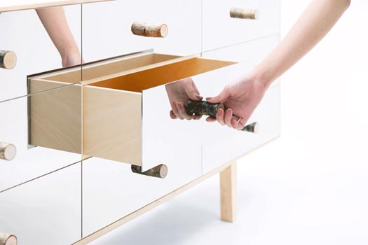 Mikiya Kobayashi's mirrored credenza is a design nightmare
