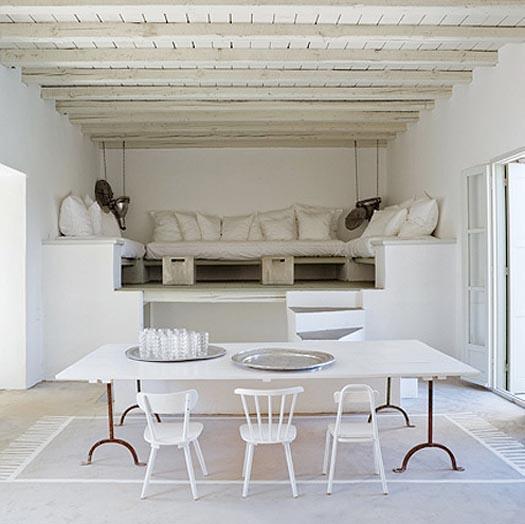 paola navone's stenciled floor rug