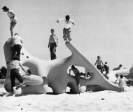 "Robert Winston Play Sculpture 1961 From Graphis 97 article, ""The World Around Them"""