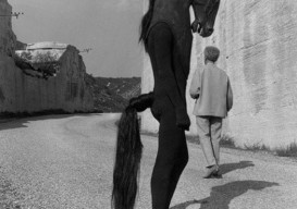 horseman from 1960 jean cocteau film, 'testament of orpheus'