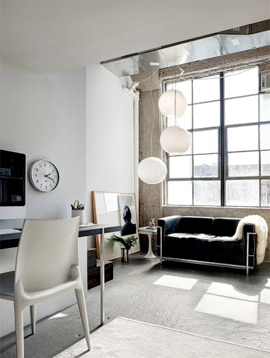 industrial chic loft tour