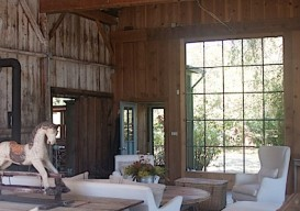 Mindy Marin's renovated barn
