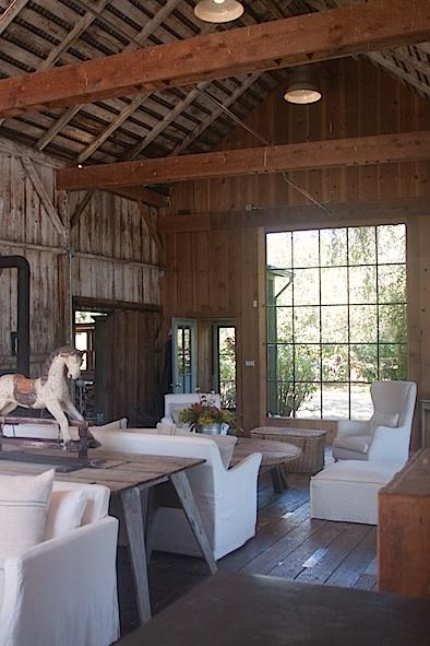 Mindy Marin's renovated barn