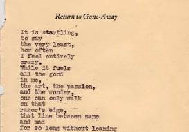 Tyler Knott poem crazy