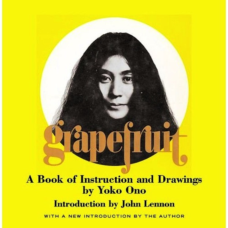 Yoko Ono grapefruit
