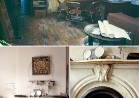 Louise Bourgeois's home studio in Chelsea, New York