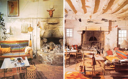 Alexander Calder's home studio in Paris, France