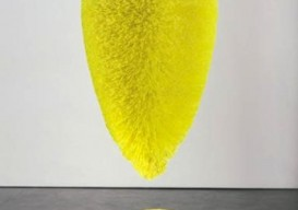 Exclamation Point (Chartreuse),' Richard Artschwager; photo Robert McKeever