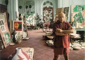 Pablo Picasso's atelier in Cannes, France
