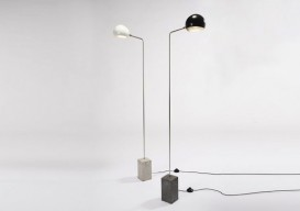 David Weeks cement base lamp