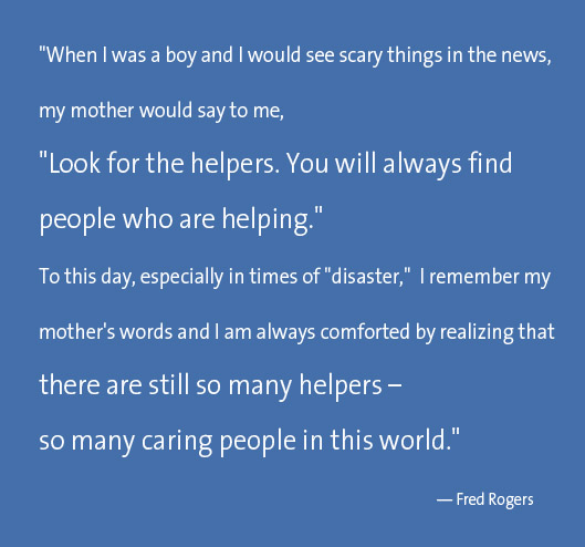Helpers Fred Rogers