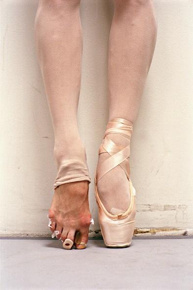 New York City Ballet en pointe toe shoes