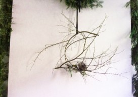 Emily Thompson's bird's nest wreath