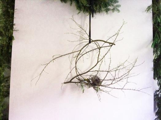 Emily Thompson's bird's nest wreath