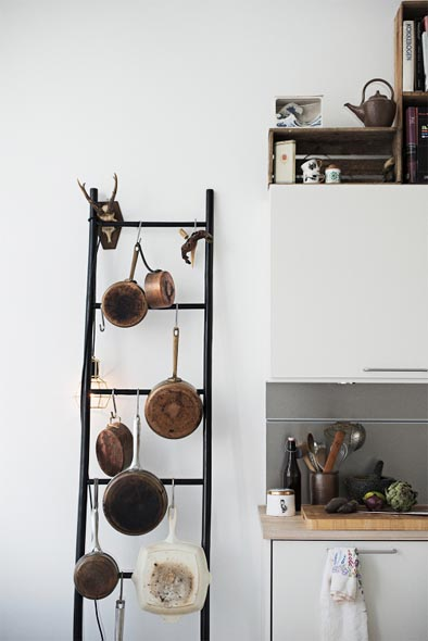 Camilla Ebdrup's kitchen in Copenhagen