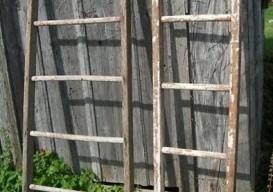 wooden ladders found on ebay