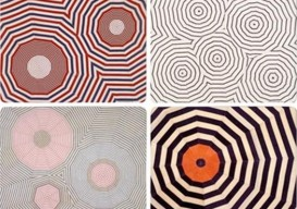 Placemats inspired by the art of Louise Bourgeois