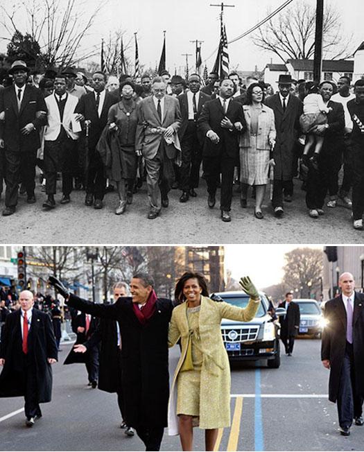 King + Obama
