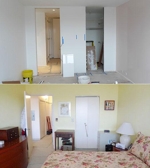 door size before after splice