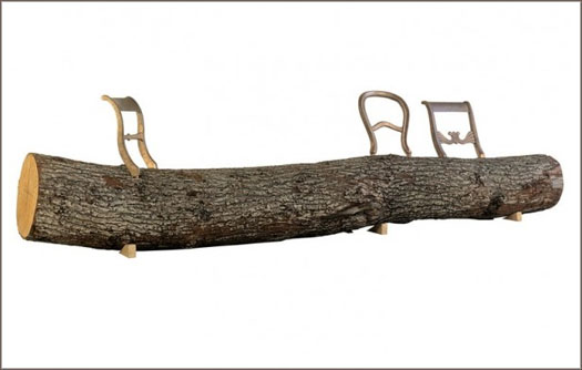 tree trunk bench Droog