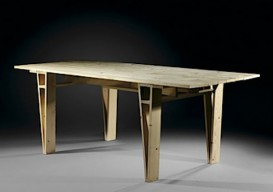 autoprogettazione table made of plywood