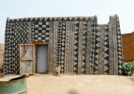 gurunsi earth tattooed houses of burkina faso