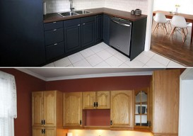 kitchen reno before after