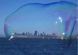Bubble man's bubble