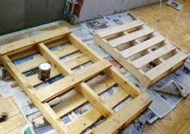 pallet furniture steps