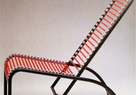 Bungee cord chair 2 Rene Herbst