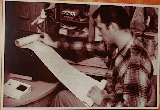 Jack Kerouac scroll