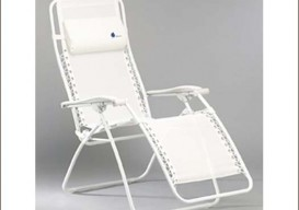 LaFuma beach chair white