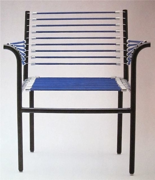 bungee cord chair Rene Herbst