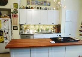 Julie Houston's renovation kitchen after