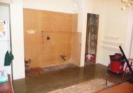 Julie Houston's renovation kitchen before
