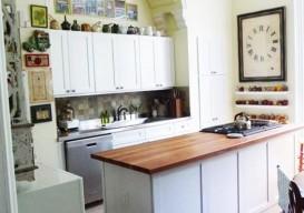Julie Houston's renovation kitchen