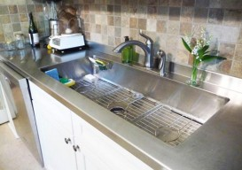 Julie Houston's renovation sink