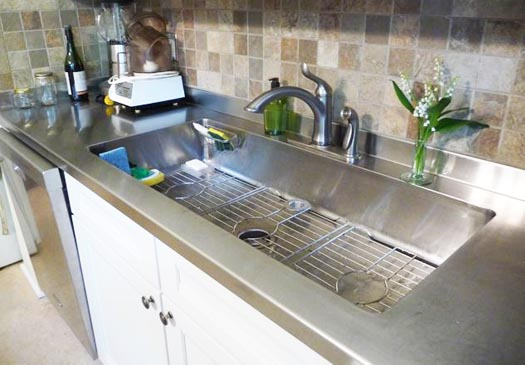 Julie Houston's renovation sink