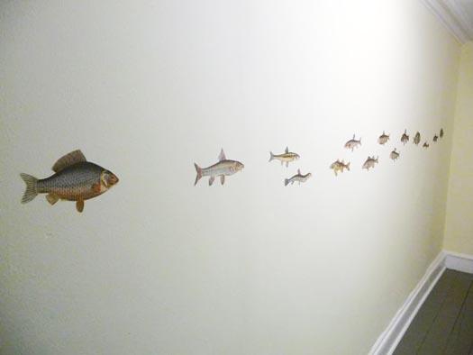 Julie Houston's house renovation school of fish