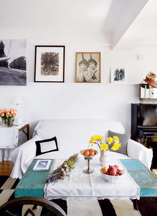 maira kalman's real apartment and her dream apartment