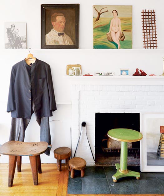 maira kalman's real apartment and her dream apartment