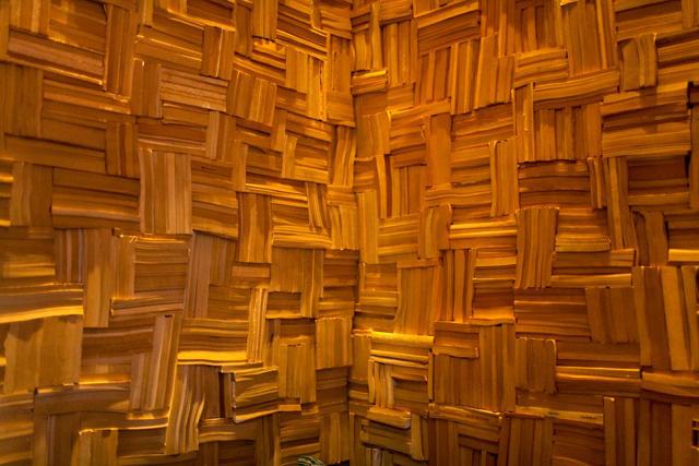 brushstroke book wall 3