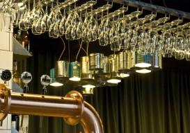 heinz bean can chandeliers