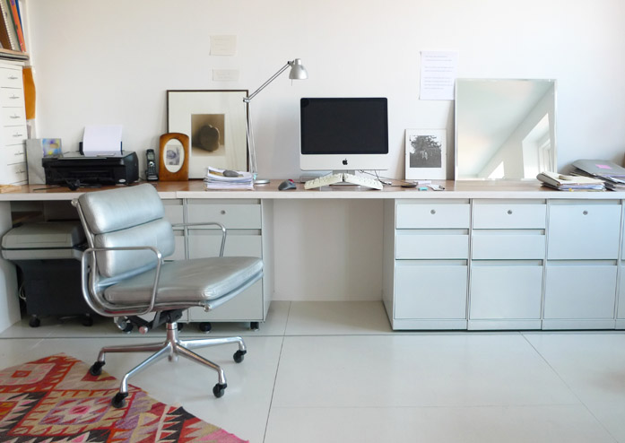 Sally's office mirror