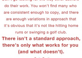 Seth Godin on writing 2