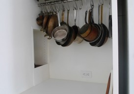 cabinet w foamcore finish