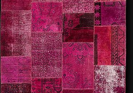 overdyed pink rug Color_Reform_Turkey_Wool
